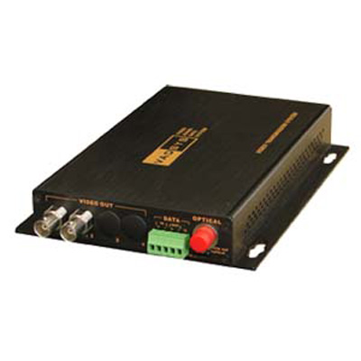VADSYS VDS1232-RV video server with 2 video signals, 2 audio signals and 3 data signals