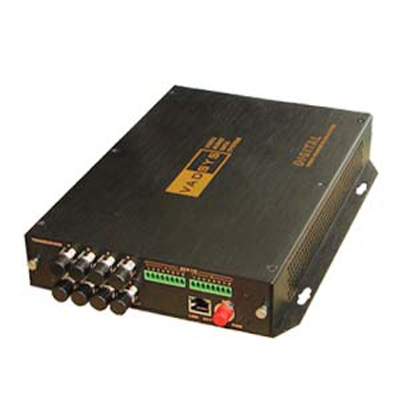 VADSYS VDS2800 video, audio and data fiber optic transmission system with 10 bit digital video