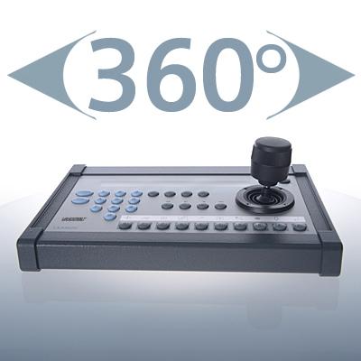 Vanderbilt CKA4820 V2 control unit with 31 keys and 1 joystick