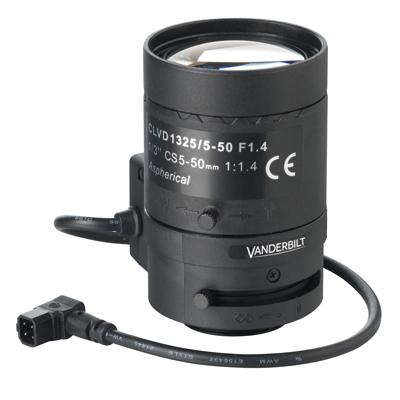Vanderbilt CLVD1325/5-50 CCTV Camera Lens With F360 Neutral Density Filter