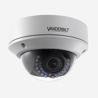 Vanderbilt CVMS2010-VIR 2 Megapixel CMOS Varifocal Vandal-Proof Network Dome Camera