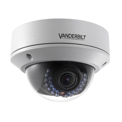 Vanderbilt CVMW2010-VIR 2 megapixel WDR varifocal vandal-proof network dome camera
