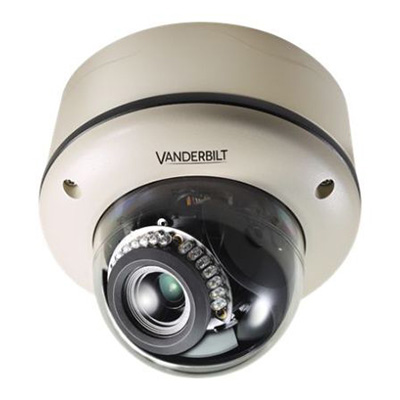 Vanderbilt CVMW2035-IR 2MP high performance IP vandal dome camera with H.264 and MJPEG