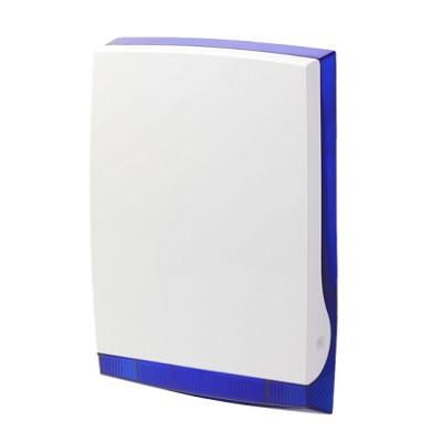 Vanderbilt ISRW6-12B wireless outdoor siren in blue