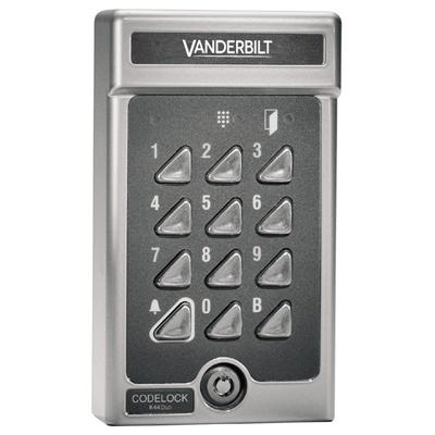 Vanderbilt K44 Duo - Codelock with 30 codes Electronic keypad