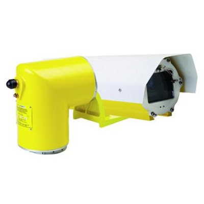 Vanderbilt Phoenix FPHC-40 series explosion-proof camera housing with pan-and-tilt unit