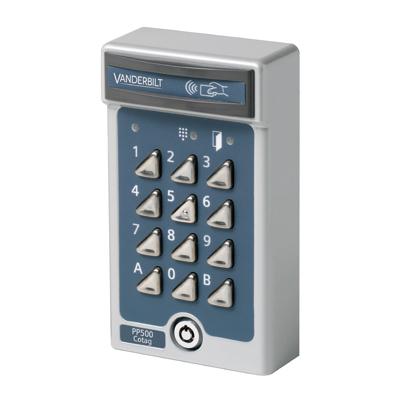 Vanderbilt PP500-Cotag - Heavy duty card and PIN reader