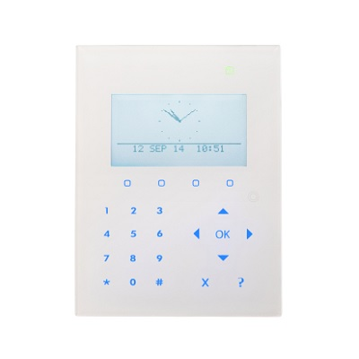 Vanderbilt SPCK520.100-N compact keypad with graphical display and audio