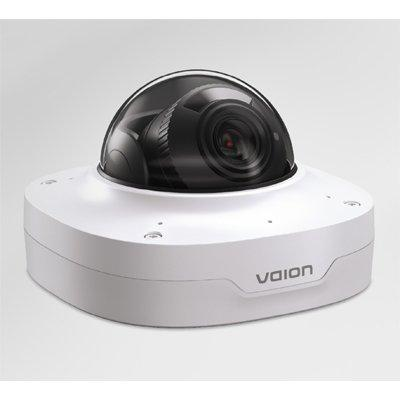 Ava V-CAM-DOME-8MPW Fixed IR Dome Camera. White Finish.
