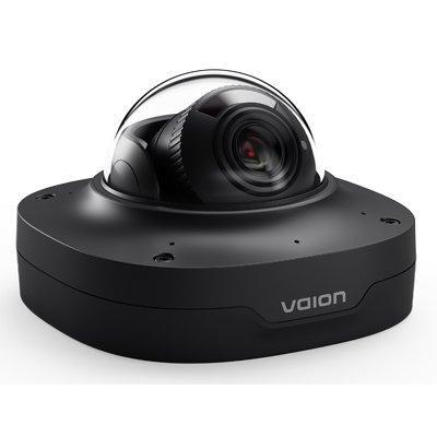 Ava V-CAM-DOME-8MPB Fixed IR Dome Camera. Black Finish.
