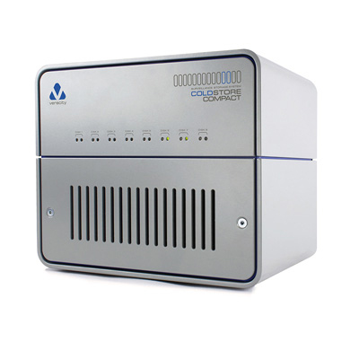 Veracity CSTORE8-C COLDSTORE Compact 8-bay 16 TB NAS with 2.5-inch disk system