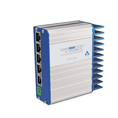 Veracity VCS-4P1-MOB CAMSWITCH 4 Mobile PoE network switch