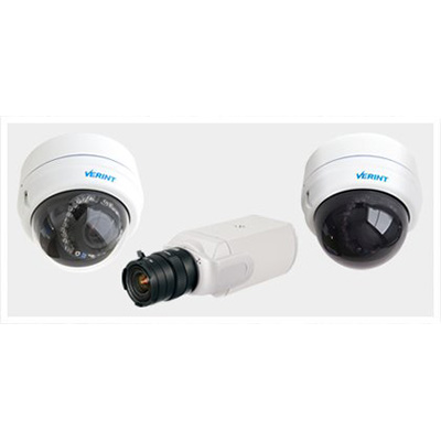 Verint V3320 Economic Vandal Dome 1080p IP camera with high definition resolution