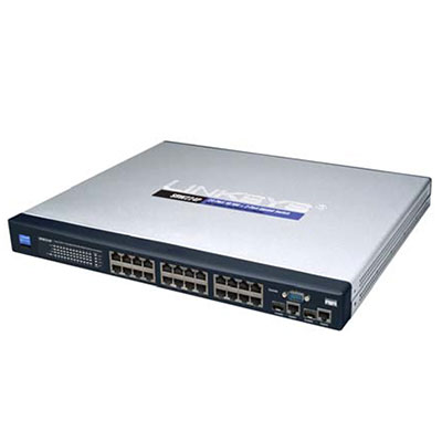 Vicon NETSWITCH-24-POE-1 24-Port Gigabit Network Switch With PoE