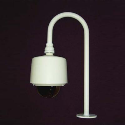 Vicon SVFT-USN-PM pole mount swanneck bracket for dome cameras