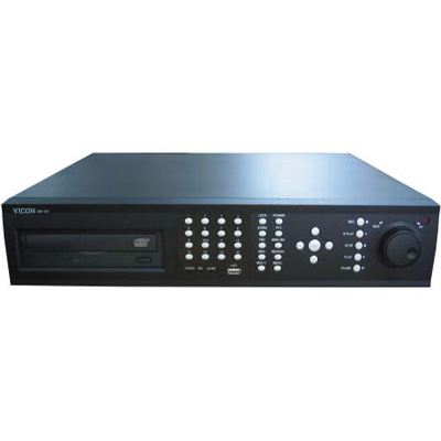 Vicon VDR-704C-500 4-channel 500GB digital video recorder with DVD and VGA output