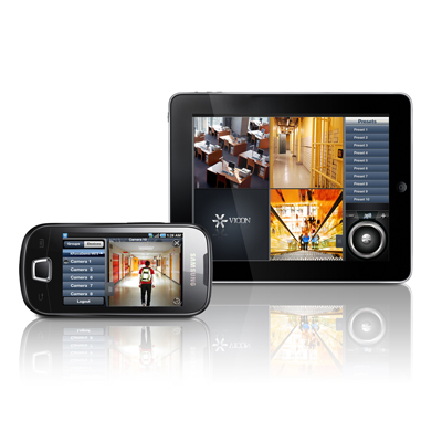 Vicon Mobile Allows Access To ViconNet VMS Using A Mobile Device, Including Smart Phones And Tablets