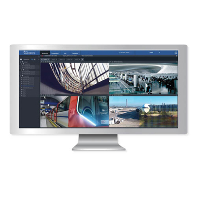 Vicon Valerus CCTV software