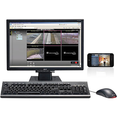 Vicon VN-RMT-PC7 Preconfigured tower PC that contains ViconNet Web/Mobile Server software VN-RMT-SWV7