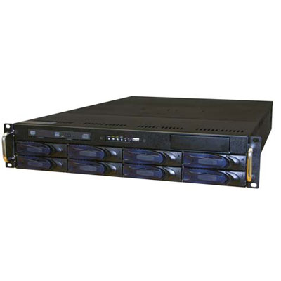 Vicon VPK-12TBV7-R5 8 bay rack-mount network video recorder