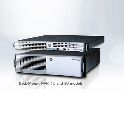 Vicon VPK-NVR-V8-RK configured with ViconNet VMS