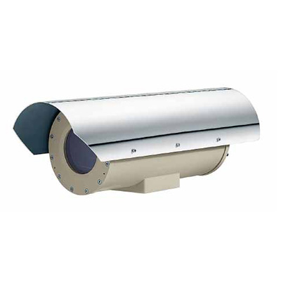 Videotec EXHC explosion proof CCTV camera housing for indoor and outdoor installations