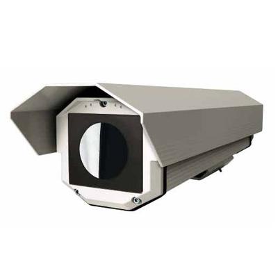 Videotec HTG CCTV camera housing with Germanium glass window
