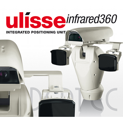 Videotec's ULISSE IR360 - designed for day / night surveillance