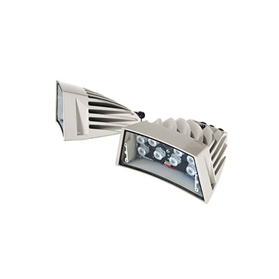 Videotec UPTIRN30WA00 LED illuminator for ULISSE, 30°, white light, 24Vac - 12/24Vdc