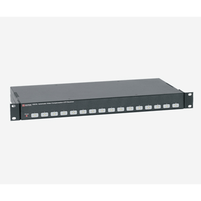 Vigitron Vi6316 16 channel automatic video compensation receiver hub