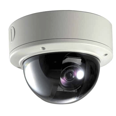 Visionhitech VDA110S-VFAL12DN dome camera with digital slow shutter to increase light sensitivity