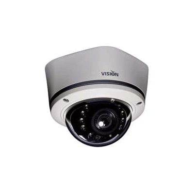 Visionhitech VDA140S dome camera with dual flush and surface mount design