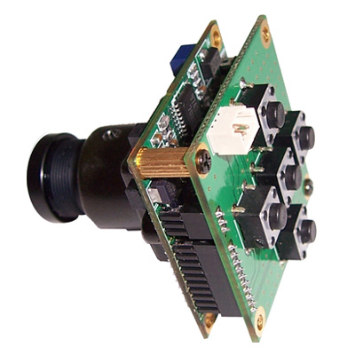 Visionhitech VM32CHN is a high resolution colour board camera with 520 TVL