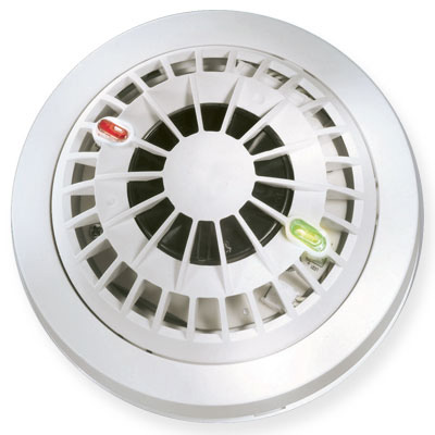 Visonic MCT-425 wireless supervised photoelectric smoke detector