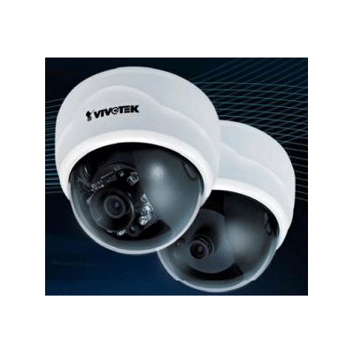 Vivotek FD8134 fixed dome network camera with activity adaptive streaming for dynamic frame rate control