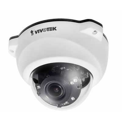 Vivotek FD8338-HV 1MP colour monochrome fixed IP dome camera
