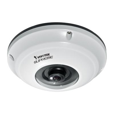 VIVOTEK FE8171V award-winning 3.1MP 360° surround view vandal-proof fisheye fixed dome