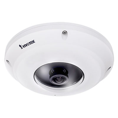 VIVOTEK FE9381-EHV fisheye network camera with detailed 5-Megapixel CMOS sensor