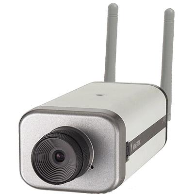 Vivotek IP6117/IP6127 dual codec wireless network camera