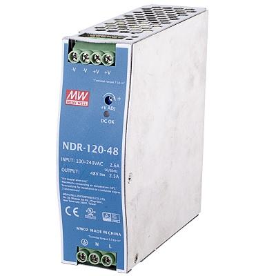 VIVOTEK NDR-120-12 120W single output industrial DIN rail