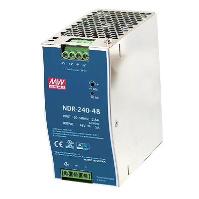 VIVOTEK NDR-240-24 240W single output industrial DIN rail