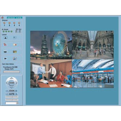 Vivotek ST2202 4 video stream CCTV digital recording software
