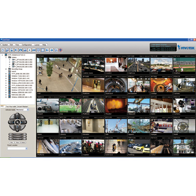 VIVOTEK showcased Professional Central Management Software VAST at IFSEC