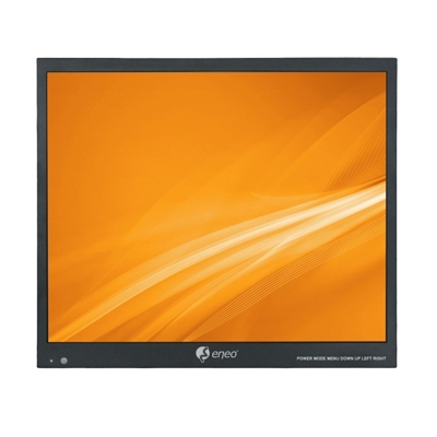 "eneo VM-HD15M 15"" (38cm) LCD Monitor HD, 1024x768, LED, HDMI. VGA Composite, Metal cabinet"