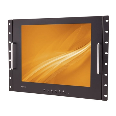 "eneo VMC-17LEDM 17"" (43cm) LCD, Professional Monitor, 12VDC, Protection Glass, HDMI, VGA"