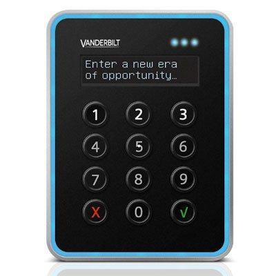 Vanderbilt VR40S-MF MIFARE EV1 card reader with keypad