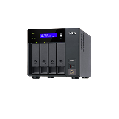 QNAP VS-4312 4-bay high performance NVR for SMB