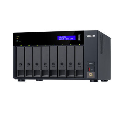 QNAP VS-8324 Ultra-high Performance 8-bay NVR Server For High-end SMBs