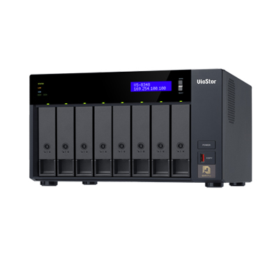 QNAP VS-8348 Ultra-high performance 8-bay NVR server for high-end SMBs