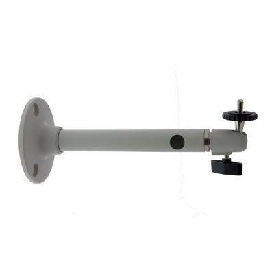 "Eneo WD-30 Wall Mount Bracket With Ball Joint, 1/4"" Camera Fixing Screw, Pantone Cool Grey 1C"